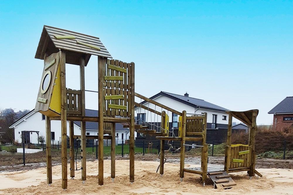Spielplatz gebaut von Seifert Gartenbau Bad Nenndorf